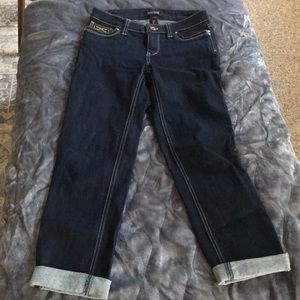 Crop Leg Jeans